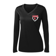 Heights Softball 2015 Ladies Performance LS Tee (S028)