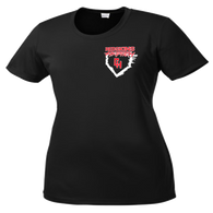 Heights Softball 2015 Ladies Performance Tee (S028)
