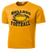 Bulldog Football Performance Tee - Gold