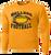 Bulldog Football Performance Tee LS - Gold