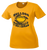 Bulldog Football Ladies Performance Tee - Gold