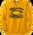 Bulldog Football Crewneck - Gold
