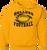 Bulldog Football Hoody - Gold