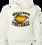Bulldog Football Hoody - White