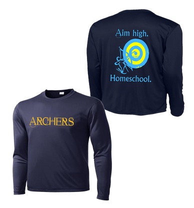 Archers Home School LS Tee Dry Fit