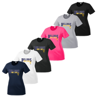 Bulldog Swim & Dive Ladies Performance Tee