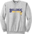 Bulldogs Swim & Dive Crewneck - Ash