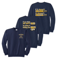 Bulldogs Swim & Dive Crewneck - Navy