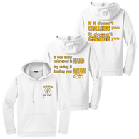 Bulldogs Swim & Dive Performance Hoody - All logos