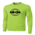 NEON Performance Tee LS - Lime Shock