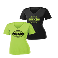 NEON Swim Ladies Performance V-Neck Tee - Set
