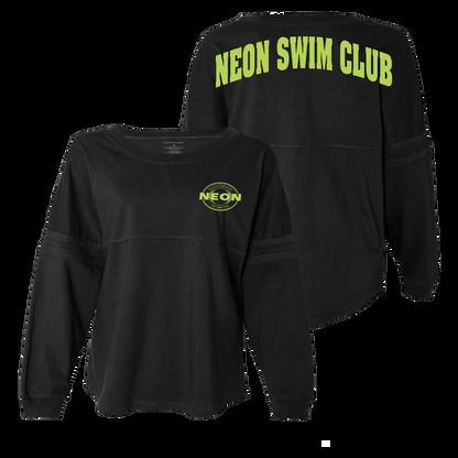 NEON Swim POM-POM Jersey - Black