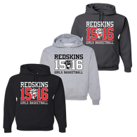Cuyahoga Heights Girls Basketball Hoody - Set