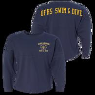 Bulldogs Swim & Dive POM-POM Jersey (S052)