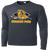 Olmsted Falls Hocky Performance LS Tee - Iron Grey