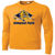 Olmsted Falls Hocky Performance LS Tee - Gold