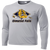 Olmsted Falls Hocky Performance LS Tee - Silver