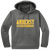 Amherst Indoor Track & Field Performance Hoody - Dark Smoke Grey