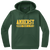 Amherst Indoor Track & Field Performance Hoody - Forest Green