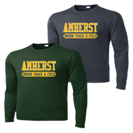 Amherst Indoor Track & Field Performance Tee LS