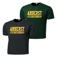 Amherst Indoor Track & Field Performance Tee (F100)
