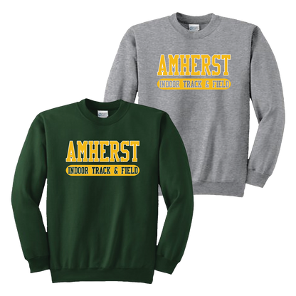 Amherst Indoor Track & Field Crewneck