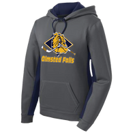 Olmsted Falls Hockey Ladies Colorblock Hoody (F099)