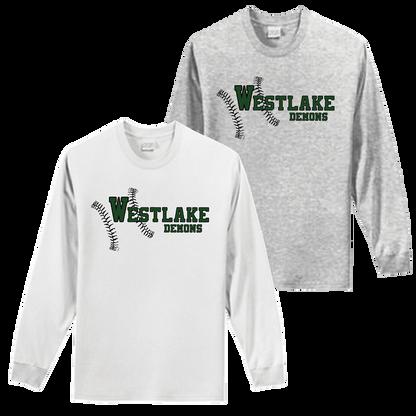 Westlake Baseball Long Sleeve Tee