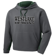Westlake Demons Colorblock Performance Hoody