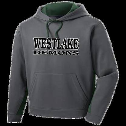 Westlake Demons Colorblock Performance Hoody