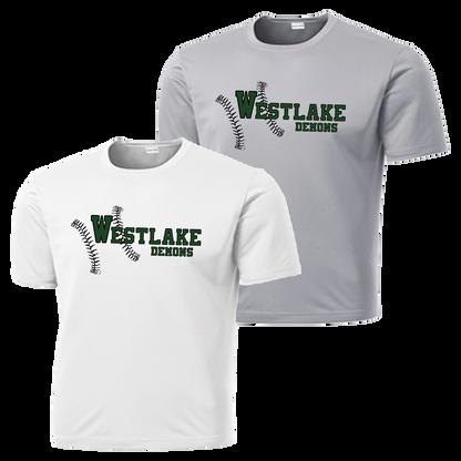 Westlake Baseball Performance Tee
