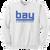 Bay Lacrosse Crewneck Sweatshirt - White