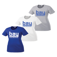 Bay Lacrosse Ladies Cut Performance Tee