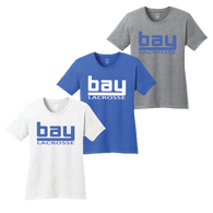 Bay Lacrosse Ladies Tee
