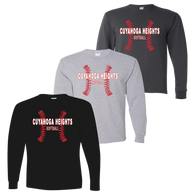 Cuyahoga Heights Softball LS Tee