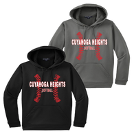 Cuyahoga Heights Softball Performance Hoody