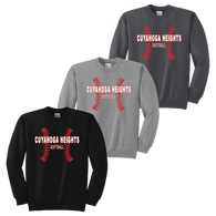 Cuyahoga Heights Softball Crewneck Sweatshirt