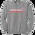 Cuyahoga Heights Softball Crewneck Sweatshirt - Athletic Heather