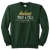 Amherst Indoor Track & Field Crewneck - Dark Green