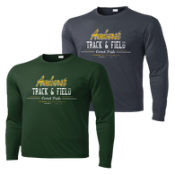 Amherst Track & Field Performance Tee LS