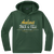 Amherst Track & Field Performance Hoody - Forest Green