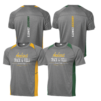 Amherst Comets Colorblock Tee