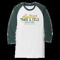 Amherst Track & Field 3/4 Raglan Tee (F118)