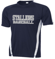 2015 Stallions Colorblock Performance Tee (F048)