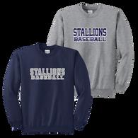 Stallions Crewneck Sweatshirt