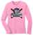 Stallions Ladies LS Tee - Candy Pink