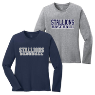 Stallions Ladies LS Tee