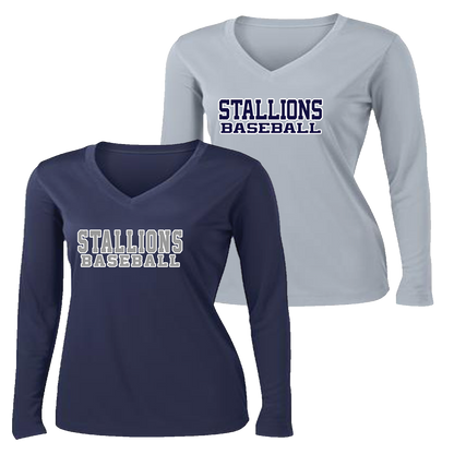 Stallions Ladies Performance LS Tee