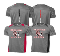 Heights Soccer Heathered Colorblock Performance Tee