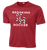 Heights Soccer Heathered Performance Tee - Scarlet Heather
